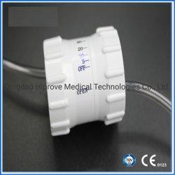 Regulador de caudal de precisão médica para o conjunto de infusão