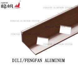 フロアーリングのアクセサリはタイルの四分の一転移の角度の端をきつく締める