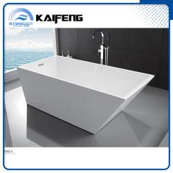 安い現代二つの部分から成った支えがない浴槽(KF-735B)