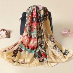 Scialle stampato popolare della sciarpa delle donne del quadrato del poliestere di alta qualità