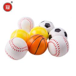 Toy PU estresse material de promoção da bola de futebol basquetebol de forma a forma de presentes