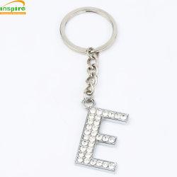 Alliage de zinc de la chaîne de clés personnalisé avec Diamond pour Souvenir/cadeau promotionnel