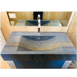 Countertops van het Graniet van Azul de Blauwe en Bovenkanten van de Ijdelheid