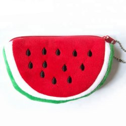 La coutume de fruits de la conception d'animaux en peluche Kids Soft Wallet