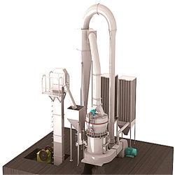 Processo de fabricação de produção profissional de pó de gesso tornando a máquina