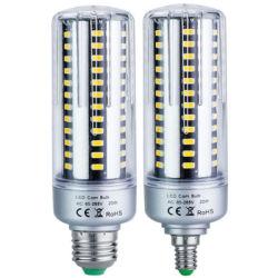indicatore luminoso di soffitto di alluminio della striscia della lampadina del cereale della lampada E27 SMD 5736 LED della vite E14 di CA 110V 265V di 5W 9W 15W 20W