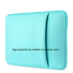 حقيبة كمبيوتر محمول طراز Neoprene قابلة للصدمات وطراز حقيبة كمبيوتر مقاوم للصدمات
