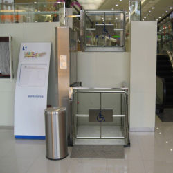 1m 3m 9m de elevación Inicio certificado CE Plataforma elevador hidráulico eléctrico