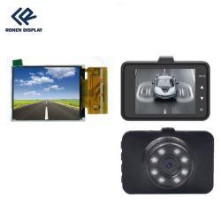 Ronde RG-T240mcqi-01Dash-cameradisplay voor in de auto 2,4-inch TFT LCD-scherm