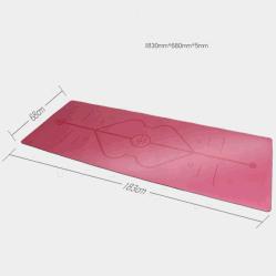 [هيغقوليتي] [بو] جلد [إك-فريندلي] نظام يوغا حصيرة