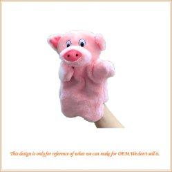 Juguete de los animales de peluche marioneta de mano a mano personalizadas de promoción de títeres títeres