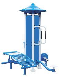 公園Fitness (WhiteおよびBlue) --腹筋運動のトレーナー(JMF-04)