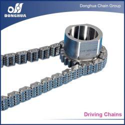 Type à goupille ronde silencieux de la chaîne en acier au carbone
