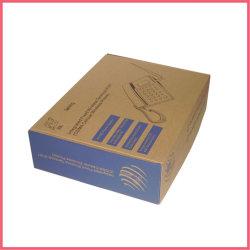 Китай пользовательских печатных гофрированной бумаги телефон упаковке производителя на заводе поставщика
