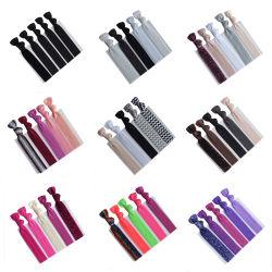 Elastische Haarbänder Band ohne Falten aushängsale Pferdeschwanz Halter für Mädchen und Frauen, Yoga Twist Haarbänder Hand geknotet Falten über