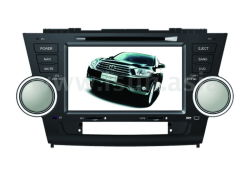 Voiture DVD double DIN pour Toyota Highlander (TS8626)