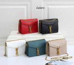 As mulheres Fashion Design réplica marca de luxo Saco Corrente novo clássico PU Couro Ysl populares L/*V Bag Grosso Senhora Original Mala a tiracolo
