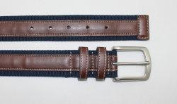 De façon personnalisée Hommes Femmes daim avec l'axe de boucle de ceinture en cuir