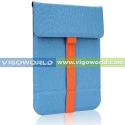 De 7-duim van Vigoworld het Geval van de Koker van de Envelop van het Leer voor iPad Mini met Tribune (IPMNPUSTK2)