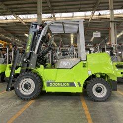 Zoomlion Small 5.0 トンフォークリフト Chariot Elevateur Capacity T 5 トン