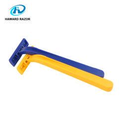 شفرة مزدوجة للمقبض البلاستيكي القابل للاستخدام من قبل OEM
