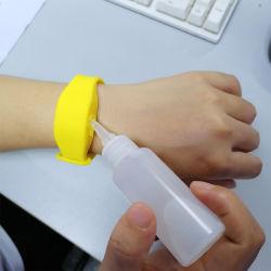 2020 de Creatieve Manchet van het Silicone van de Manchet van het Desinfecterende middel van de Hand RubberDouane Gesteriliseerde voor het Schoonmaken van de Was van de Hand