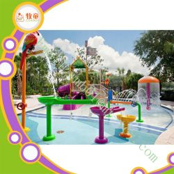 Giocattolo commerciale del gioco dello spruzzo della vetroresina del campo da giuoco dell'acqua delle attrazioni di divertimento