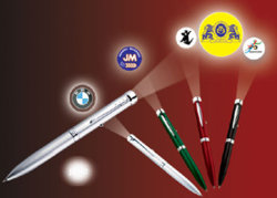 Proyector de metal Materil uso promocional de la pluma (PTP-002).