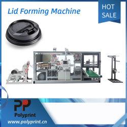 PLA biodégradable couvercle chaude tasse de boisson froide couvercle plat machine de formage