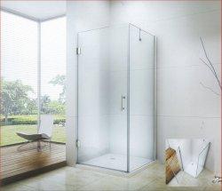 A las bisagras de puerta de la pared de cristal sin cerco simple ducha cuarto de baño (CK-8031)