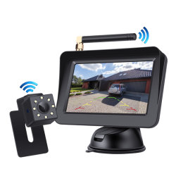 Macchina fotografica di riserva senza fili dell'automobile del sistema HD Roh del veicolo utilitario di retrovisione