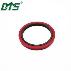 PTFE гидравлическое уплотнение штока с уплотнительным кольцом шаг для уплотнения вала для тяжелого режима работы