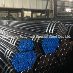 Tubos de aço sem costura em liga P1, P2, P5, P9, P11, P21, P22, P91