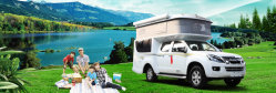 Wohnmobil Isuzu Aufnahmen-Reisen-Auto aufheben