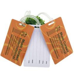 個人的な設計車のパスポートおよびタイの追跡装置の熱帯カメの札入れ 亜鉛合金供給バッグプラスチック荷物タグ