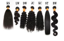 La cuticola di Angelbella ha allineato i capelli umani indiani di trama di Remy dei capelli brasiliani non trattati del visone di 100% con colore naturale