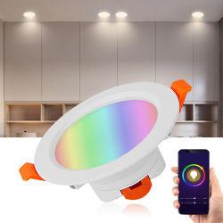 En el interior inteligente de iluminación LED LED Lámpara de luz LED de techo hacia abajo de la luz de la decoración de la luz de lámpara de luz LED luces LED y distribuidor de iluminación Downlight LED