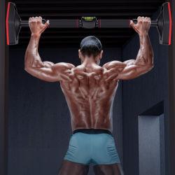 بار ذو اتجاه واحد لأعلى لشين بار ذو مدخل بلا آلية القفل الآمن اللولبي أقصى حمل 660 رطلاً للمنزل تدريب القوة في النادي الرياضي