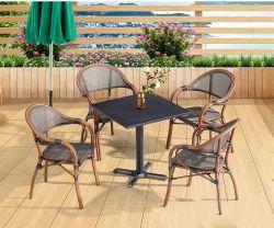 Bewegliche im Freien faltende Picknick-Tee-Tisch-Stuhl-Metallinnenmöbel
