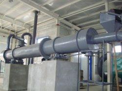 China, fabricante líder de la soja posos aserrín secador de tambor giratorio para la venta