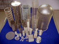 Trous de perforation / filtre à mailles maille perforée