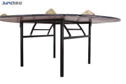 Retângulo de dobragem de armazenamento de contraplacado de MDF com melamina ou Conferência de acabamento laminado mesa de reunião