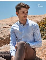 """الرجال"""" S قميص العمل بالأكمام الطويلة ملابس العمل المهنية يمكن تخصيص Pure Cotton Slim Fit Non كي"""