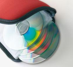 Cassa CD del CD del sacchetto del raccoglitore CD