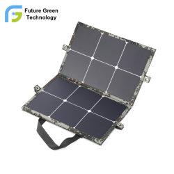 120W Flexible ETFE Solar Panel Portable 6 Fold Bag mit Schnelles USB-Ladegerät