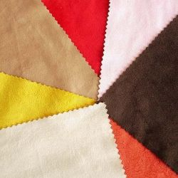 El ancho de toda la urdimbre de Micro gamuza Sofá tela poliéster