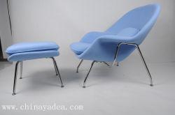 Vientre de la venta de silla y otomana Diseñado por Eero Saarinen