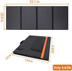 A fábrica 21W dobrar o painel solar 5V USB célula solar para carro Home Bateria Yacht barco camping Piscina