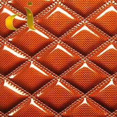3D besticktes künstliches PU PVC Leder für Sofa/Autositz/Tür/Tasche/Kleidung/Wand /Möbel