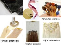 Extensões de cabelo humano
